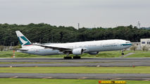 B-HNK - Cathay Pacific Boeing 777-300 aircraft