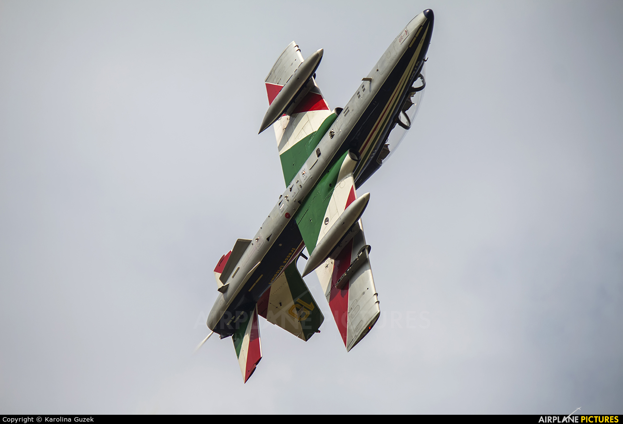 "Italy - Air Force ""Frecce Tricolori"" MB-3394 aircraft at Ostrava Mošnov"