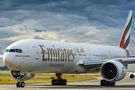 Emirates Airlines Boeing 777-300ER A6-ENF at Warsaw - Frederic Chopin airport