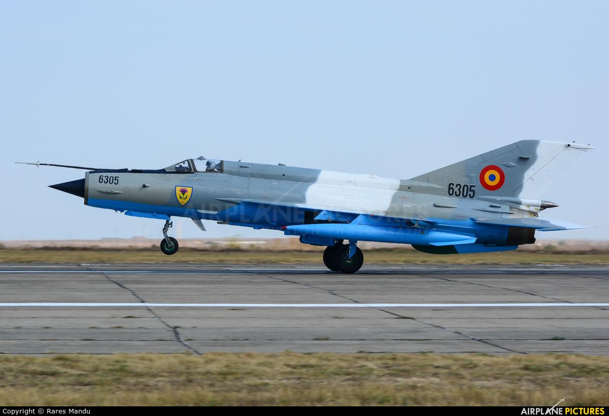 Romania - Air Force 6487 aircraft at Constanza - Mihail Kogălniceanu