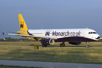 G-OZBE - Monarch Airlines Airbus A321