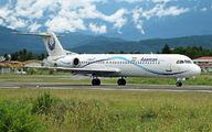 EP-AST - Iran Aseman Fokker 100 aircraft