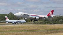 LX-VCD - Cargolux Boeing 747-8F aircraft