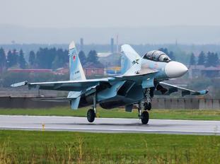 RF-93668 - Russia - Air Force Sukhoi Su-30SM