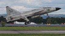 SE-DXN - Swedish Air Force Historic Flight SAAB AJS 37 Viggen aircraft