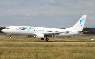 YR-BMF - Blue Air Boeing 737-800