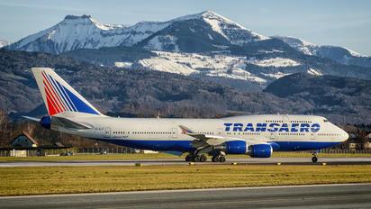 EI-XLF - Transaero Airlines Boeing 747-400
