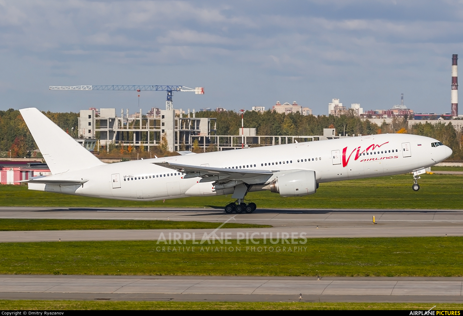 Vim Airlines VP-BDQ aircraft at St. Petersburg - Pulkovo