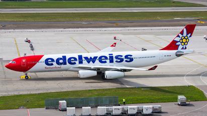 HB-JMG - Edelweiss Airbus A340-300