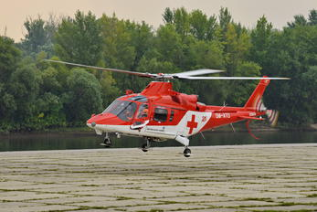 OM-ATD - Air Transport Europe Agusta / Agusta-Bell A 109
