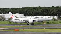 JA836J - JAL - Japan Airlines Boeing 787-8 Dreamliner aircraft