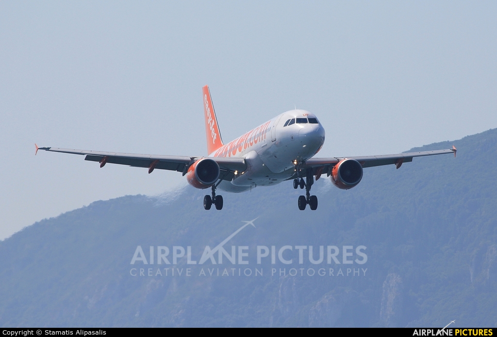 easyJet G-EZUF aircraft at Corfu - Ioannis Kapodistrias