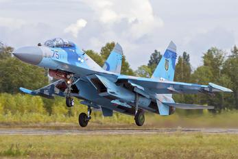 75 - Ukraine - Air Force Sukhoi Su-27UB