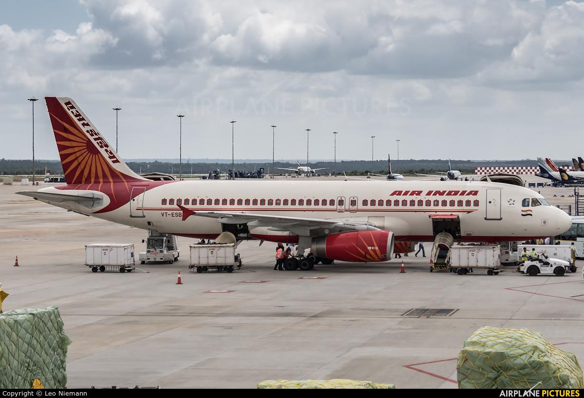 Air India VT-ESB aircraft at Bangalore - Bengaluru Intl