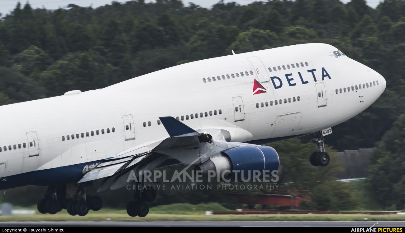 Delta Air Lines N662US aircraft at Tokyo - Narita Intl