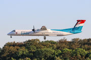 Brand new Dash 8 for Luxair title=