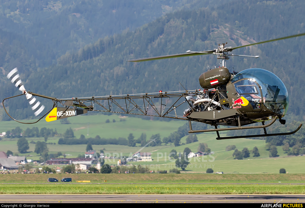 Red Bull OE-XDM aircraft at Zeltweg