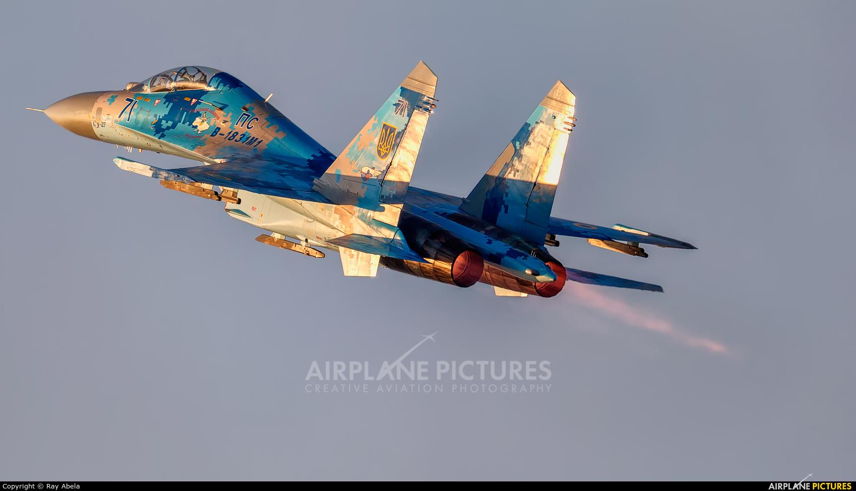 Ukraine - Air Force 71 aircraft at Off Airport - Malta