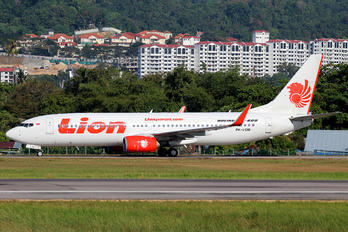 PK-LOM - Lion Airlines Boeing 737-800