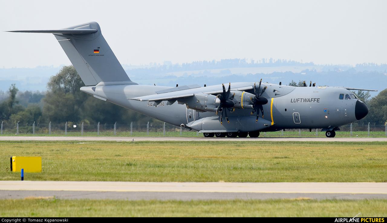 Germany - Air Force 54-04 aircraft at Ostrava Mošnov