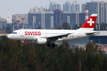 HB-IPX - Swiss Airbus A319