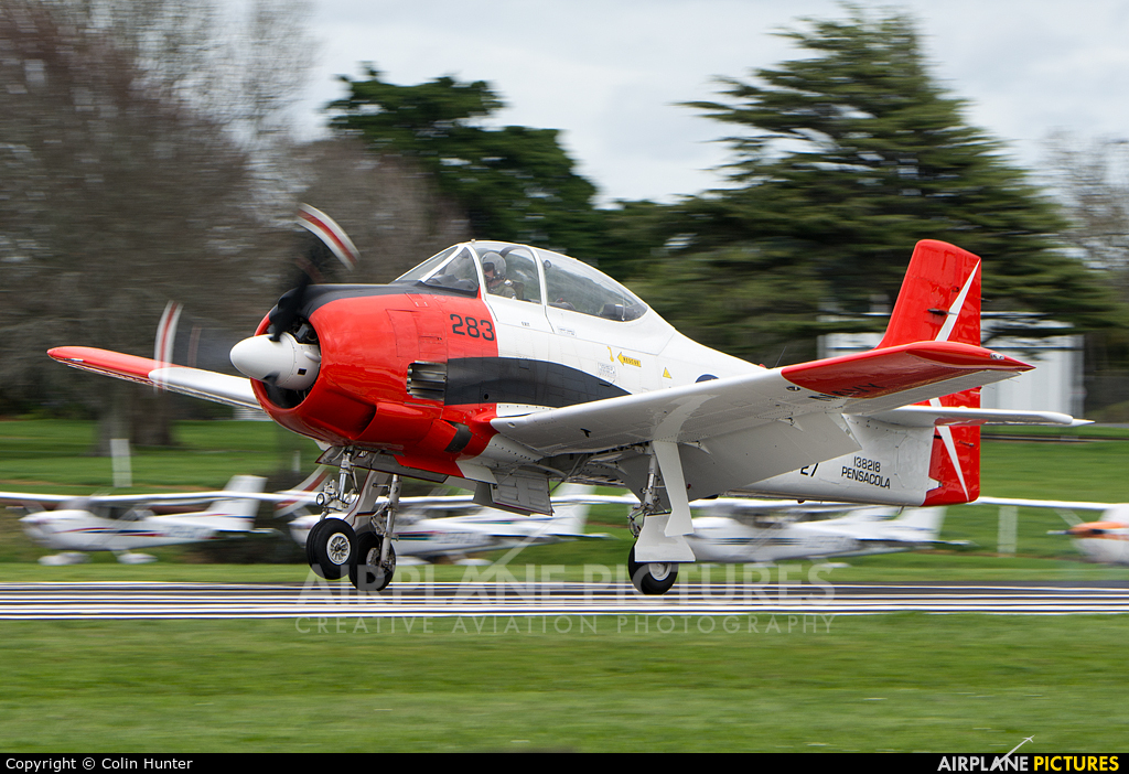 Private ZK-TGN aircraft at Ardmore