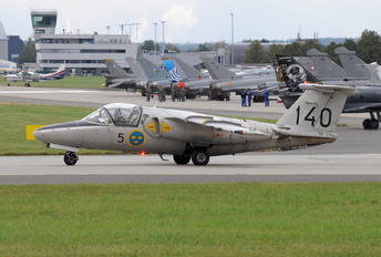 SE-DXG - Swedish Air Force Historic Flight SAAB SK 60