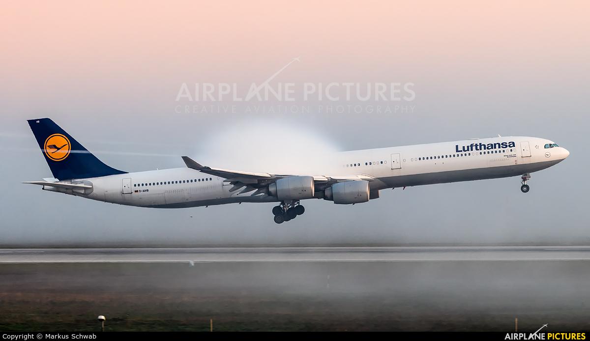 Lufthansa D-AIHB aircraft at Munich