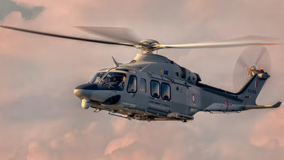 AS1428 - Malta - Armed Forces Agusta Westland AW139