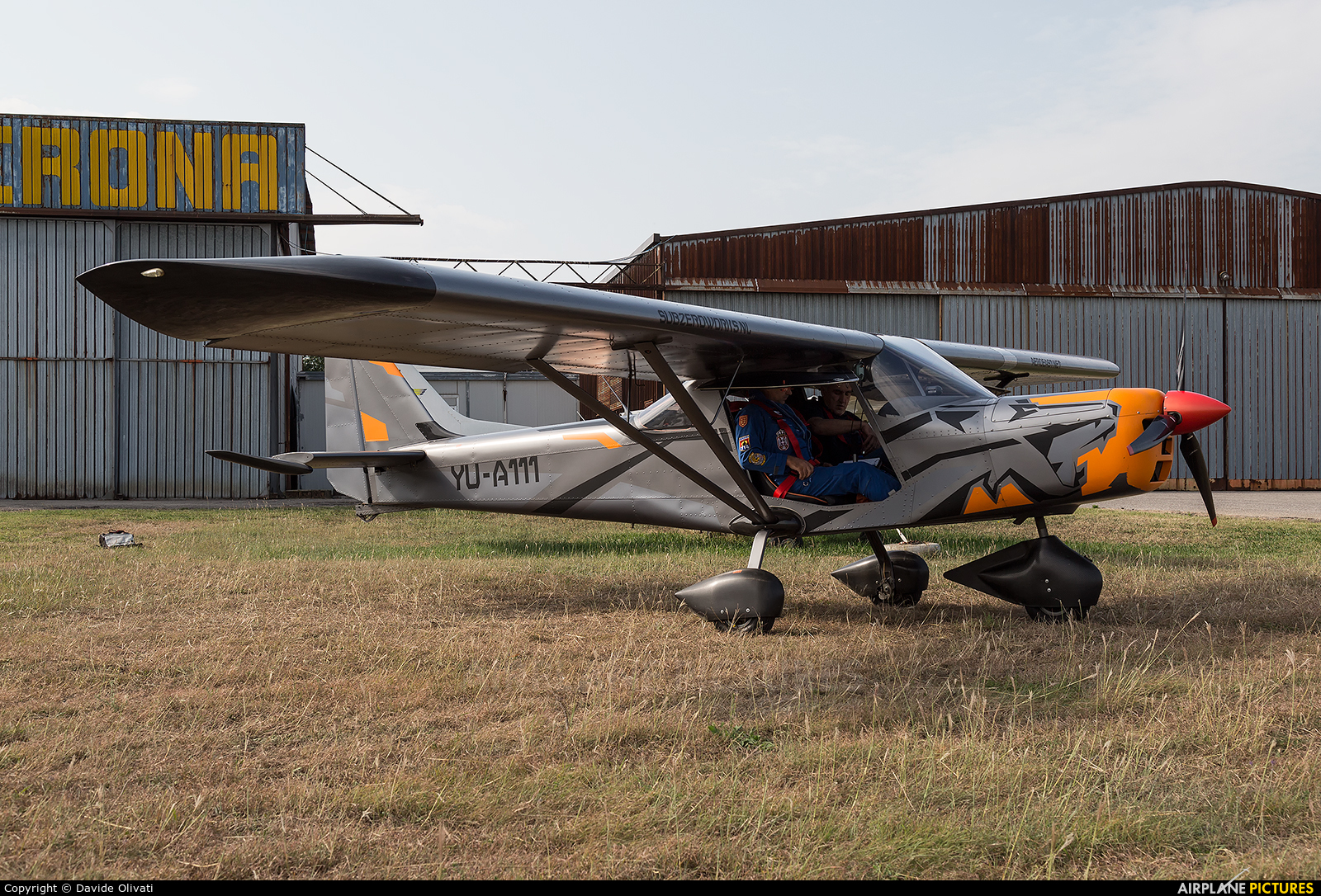YU-A111 - Private Aero East Europe Sila 450 at Verona