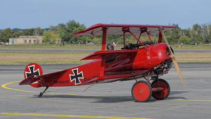 OK-UAA90 - Private Fokker DR.1 Triplane (replica)