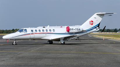 OY-TSA - Private Cessna 525B Citation CJ3
