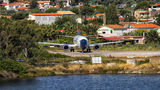 Blue Panorama Airlines Boeing 737-400 I-BPAC at Skiathos airport