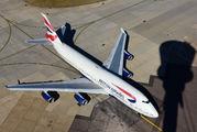 G-BNLJ - British Airways Boeing 747-400 aircraft