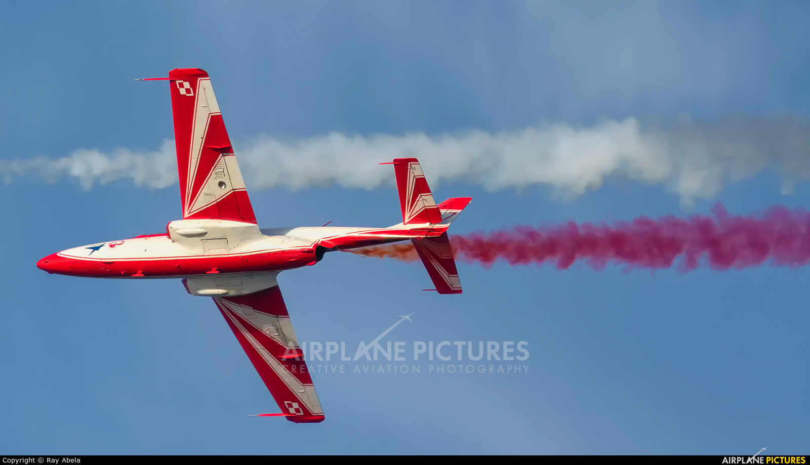 Poland - Air Force: White & Red Iskras 1 aircraft at Off Airport - Malta