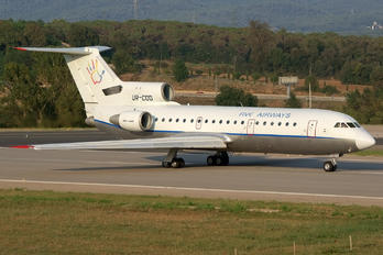 UR-COD - Five Airways Yakovlev Yak-42