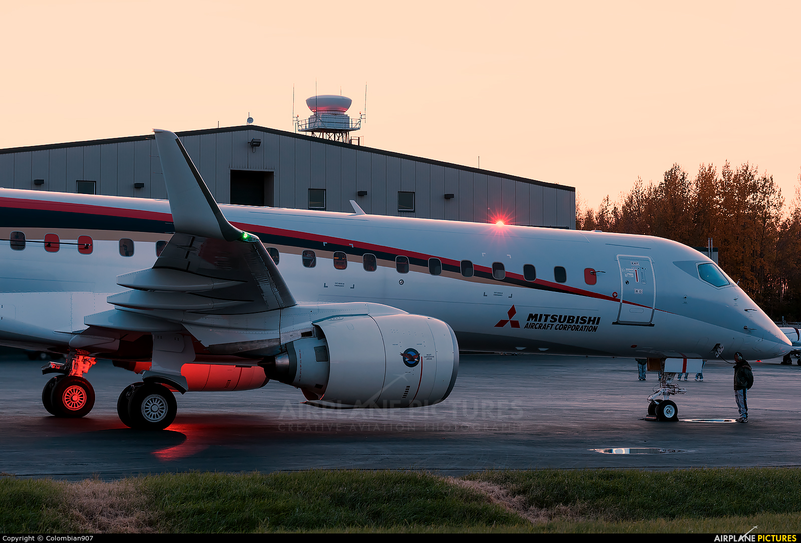 ja21mj - mitsubishi aircraft corporation mitsubishi mrj90 at