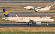 D-AINB - Lufthansa Airbus A320 NEO aircraft