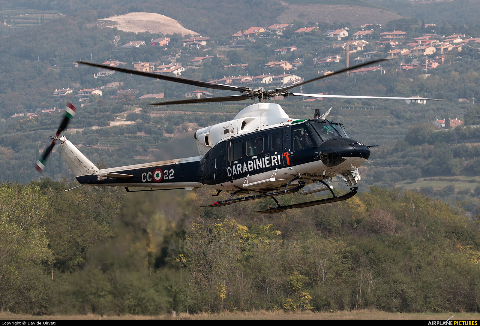 Italy - Carabinieri MM81436 aircraft at Verona - Boscomantico