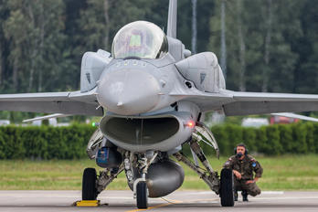4078 - Poland - Air Force Lockheed Martin F-16D Jastrząb