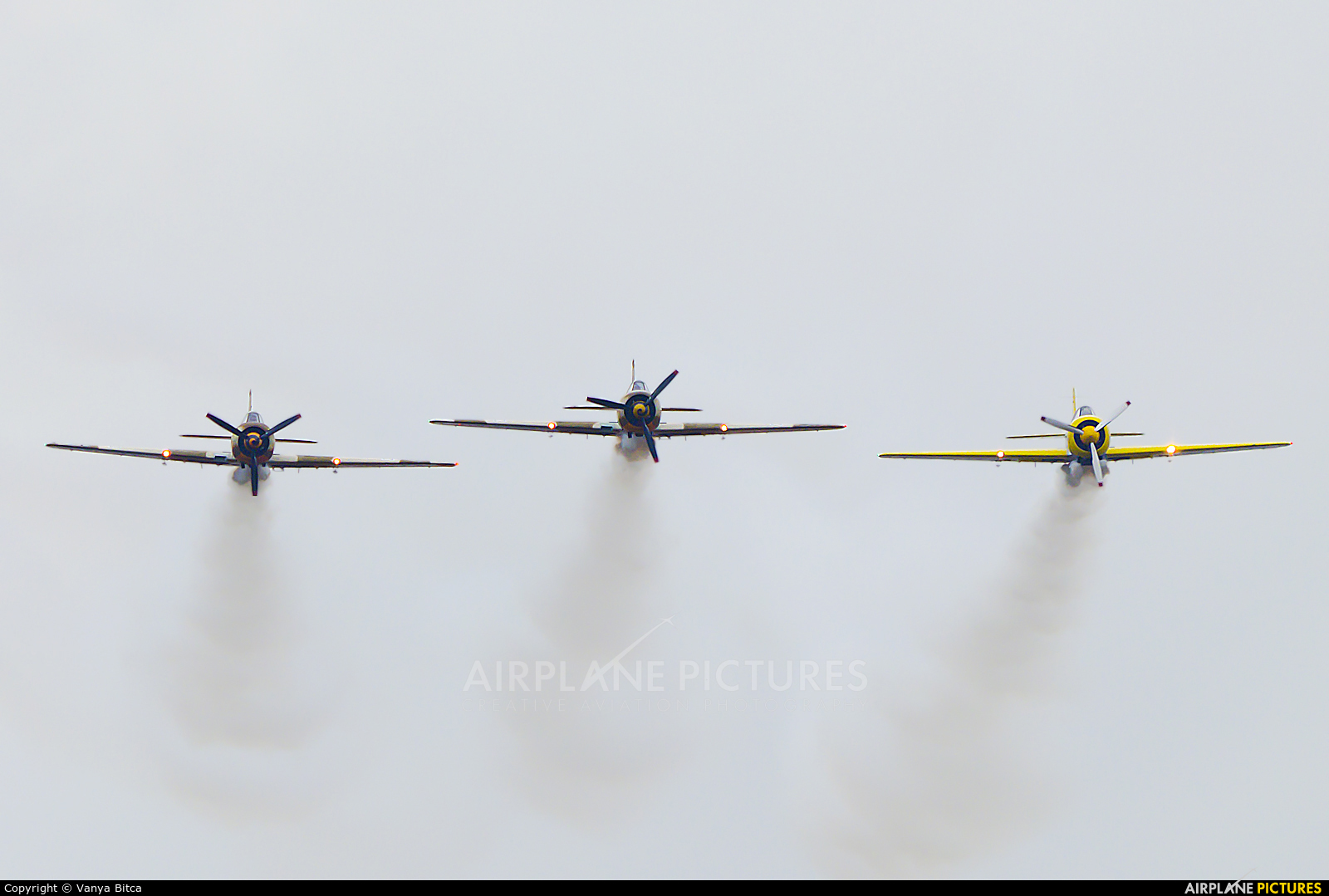 Aerobatic Yakkers LY-WAA aircraft at Chişinău Intl