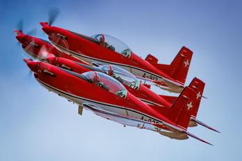 A-935 - Switzerland - Air Force: PC-7 Team Pilatus PC-7 I & II