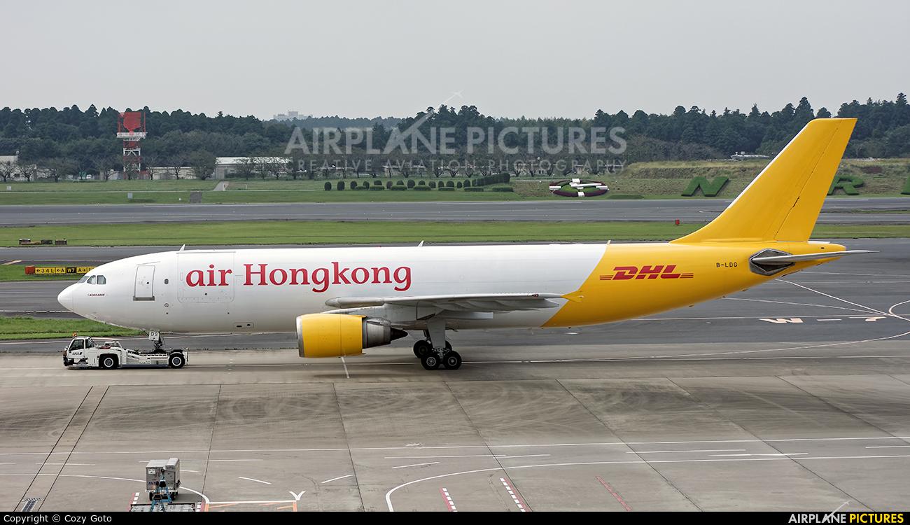 Air Hong Kong B-LDG aircraft at Tokyo - Narita Intl