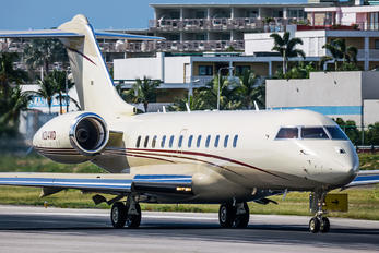 N214MD - Private Bombardier BD-700 Global 5000