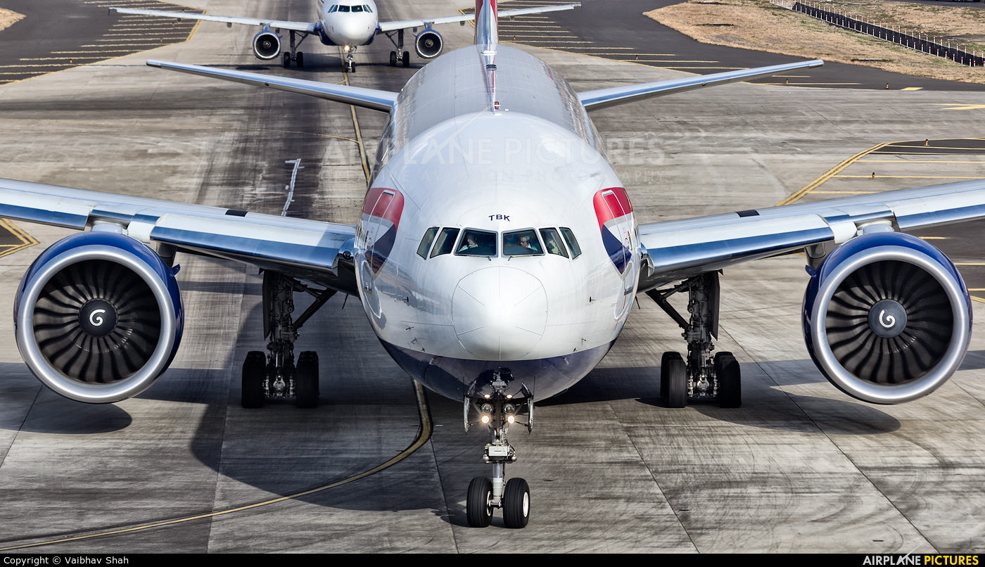 British Airways G-STBK aircraft at Mumbai - Chhatrapati Shivaji Intl