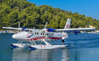 9A-TOE - European Coastal Airlines de Havilland Canada DHC-6 Twin Otter aircraft
