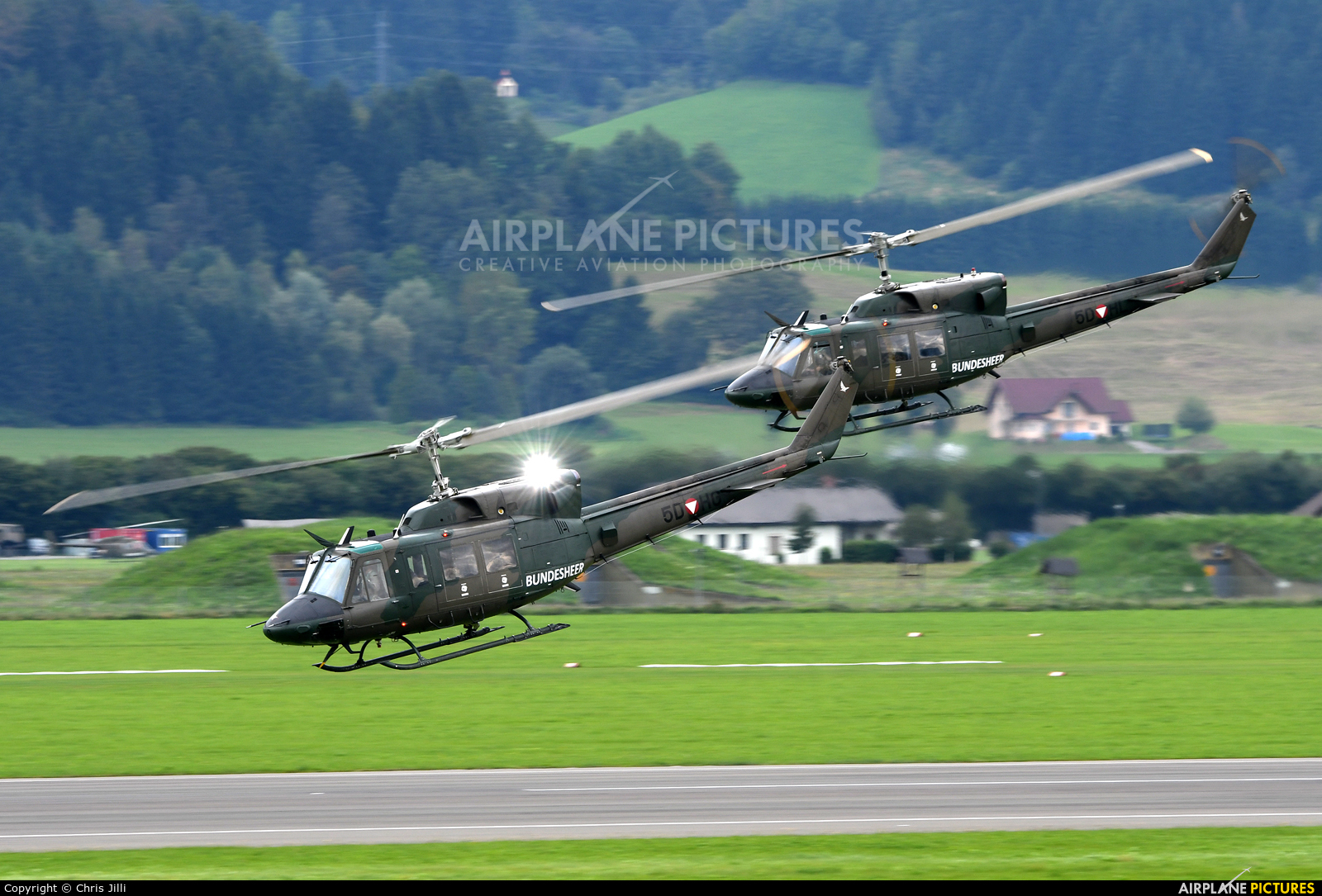 Austria - Air Force 5D-HG aircraft at Zeltweg
