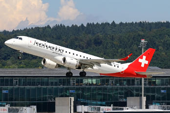 HB-JVN - Helvetic Airways Embraer ERJ-190 (190-100)