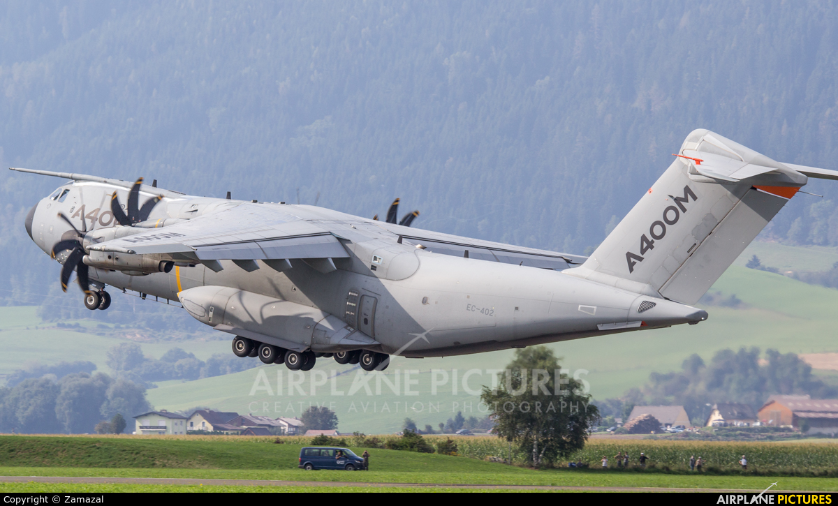 Airbus Military EC-402 aircraft at Zeltweg
