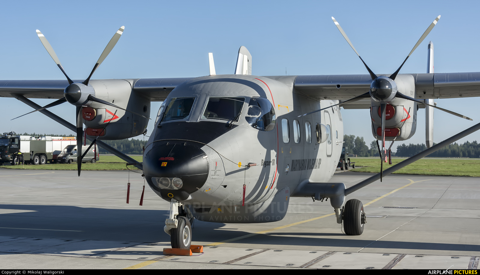 Poland - Navy 1008 aircraft at Poznań - Krzesiny